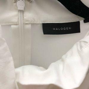 Nordstrom / Halogen - Bow Neck Top